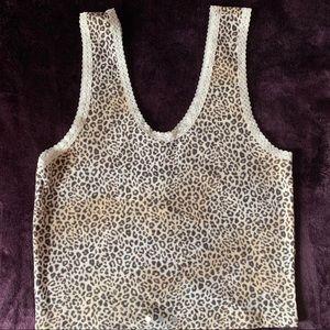 cheetah print cami